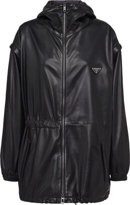 Prada Hooded Windbreaker Style Jacket