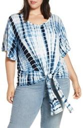 Seven7 Tie Hem Short Sleeve T-Shirt