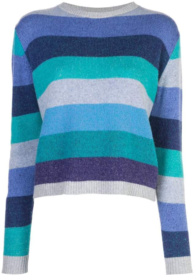 The Elder Statesman Super Duper cropped jumper