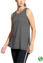 Athleta Stripe Side Split Tank