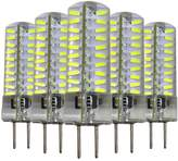 MXNET 5PCS Dimmable GY6.35 5W 80 LED 4014 SMD 400-500 LM Warm White LED Silica Gel Lamp AC / AC 220V Led Lighting ( Color : , Size : )