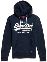 Superdry Vintage Logo Cotton Mix Hoodie