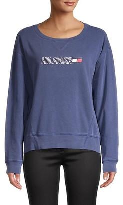 Tommy Hilfiger Graphic Cotton Sweatshirt