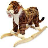 Happy Trails Plush Rocking Tiger