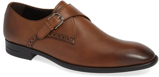 Ermenegildo Zegna Single Strap Monk Shoe