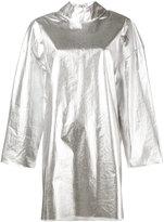 Awake mock metallic (Grey) silver tunic - women - Cotton - XS