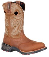 "Rocky Men's 11"" Technoram Saddle Western Boot RKW0208"