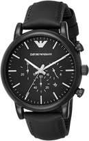 Emporio Armani Men's AR1970 Luigi Analog Display Analog Quartz Watch