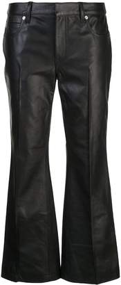 Alexander Wang low rise kick flare trousers