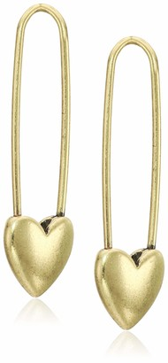 Lucky Brand Women's Safety Pin Earrings