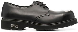 Cult Bolt metal toe derby shoes