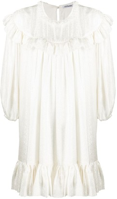 Parlor Frill Trimmed Shift Dress