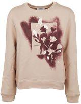 Carven Flower Spray Effect Sweatshirt