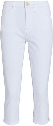 Frame Le High Pedal Pusher Skinny Jeans