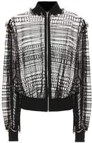 Alexander McQueen Silk and cotton-blend cardigan