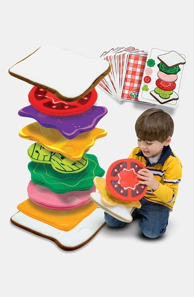 Melissa & Doug Sandwich Stacking Games