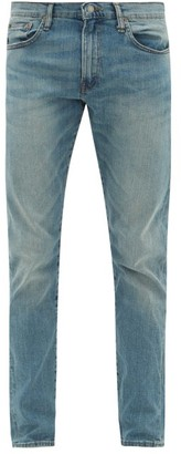 Polo Ralph Lauren Dixon Washed Slim-leg Jeans - Mens - Light Blue