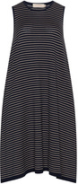 Isolde Roth Plus Size Striped knitted balloon dress