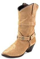 Dingo Lad 10 Ston Women Pointed Toe Leather Western Boot.