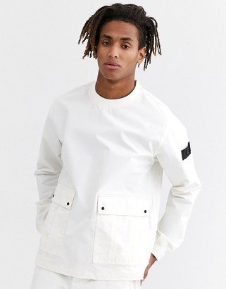 Topman woven sweat in white