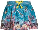 Cakewalk TYRIA Aline skirt maui blue