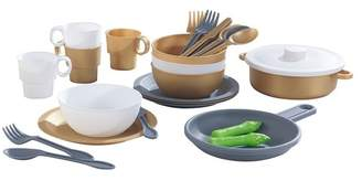 Kid Kraft Modern Metallics 27-Piece Cookware Set