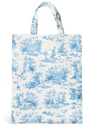 Harrods Toile Medium Shopper Bag