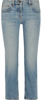 The Row Ashland Cropped Mid-rise Straight-leg Jeans - US4