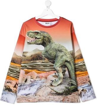 Molo TEEN dinosaur-print sweatshirt