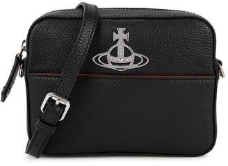 Vivienne Westwood Rachel Black Leather Cross-body Bag