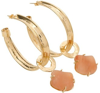 Alberta Ferretti Stone Drop Earrings