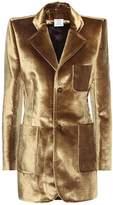 Vetements Velvet jacket