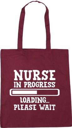 Hippowarehouse Nurse in progress loading? please wait Tote Shopping Gym Beach Bag 42cm x38cm 10 litres