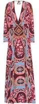 Etro Printed long-sleeved dress