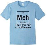 Element Meh, Funny Sarcasm, Chemistry Teacher T-Shirt