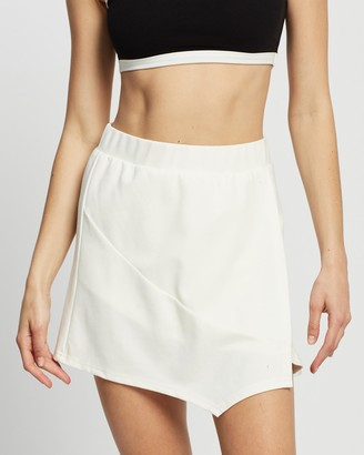 Dazie - Women's White Mini skirts - Venus Tennis Skirt - Size 6 at The Iconic