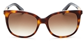 Kate Spade Juliana Rounded Square Sunglasses, 55mm