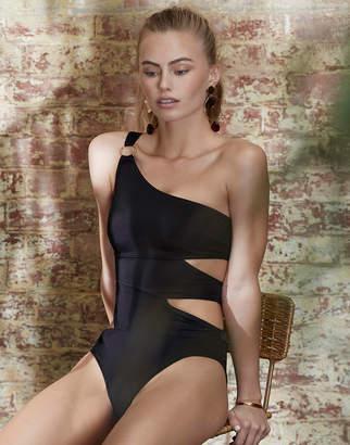 Bluebella Samar One Shoulder Cut Out Swimsuit