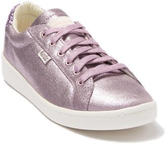 Keds R) x kate spade ace glitter metallic suede sneaker