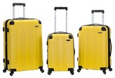 Rockland Sonic 3pc ABS Upright Set - Yellow