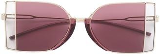 Calvin Klein Two-Tone Sunglasses