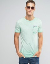 Jack and Jones T-Shirt with Floral pocket Detail