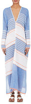 Lemlem Women's Aden Striped Gauze Caftan-BLUE
