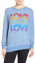 Junk Food Clothing Women's Love Sweatshirt