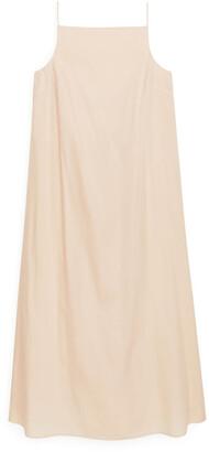 Arket Cotton Voile Slip Dress