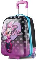 American Tourister Disney Minnie Mouse 18-Inch Hardside Wheeled Luggage by
