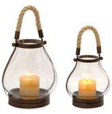 Cambridge Silversmiths 14-Inch Lantern Candle Holder in Bronze