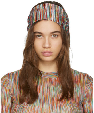 Missoni Multicolor Striped Headband