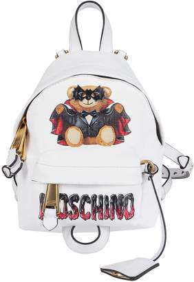 Moschino Graphic Printed Mini Backpack
