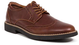 Deer Stags Men Creston Dress Casual Comfort Wingtip Oxford Shoes Men Shoes